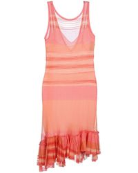 Missoni 34 Length Dress - Lyst