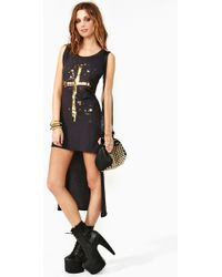 Nasty Gal Golden Rule Dress - Lyst