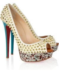 Christian Louboutin Lady Peep Pumps - Lyst