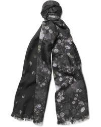 Paul Smith Doublefaced Printed Scarf - Lyst