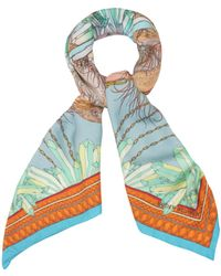 Matthew Williamson Flamingo Dna Oversized Scarf - Lyst