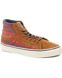 Vans - California Sk8hi Slim Ca Brown High Top Sneakers - Lyst
