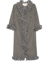 Marni Polka Dot-print Shell Dress - Lyst