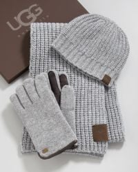 ugg hats and scarves