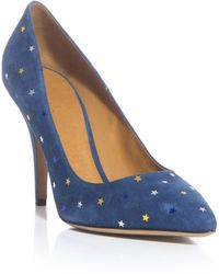 Isabel Marant Anaid Star Shoes blue - Lyst