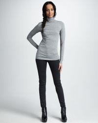 Vince Fivepocket Skinny Herringbone Jeans - Lyst