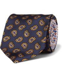 Etro Patterned Wovensilk Tie - Lyst