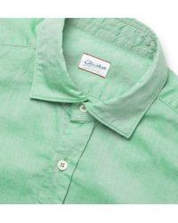 Slowear - Glanshirt Slimfit Cotton Oxford Shirt - Lyst