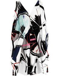 Balenciaga Ginko-Print Ethereal Dress - Lyst