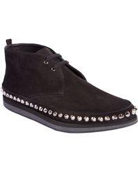 Prada Spike Studded Chukka Sneakers - Lyst