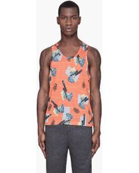 Adidas Slvr  Graphic Muscle Tank Top - Lyst