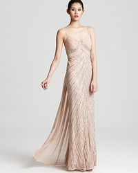 Adrianna Papell Gown Sequin - Lyst
