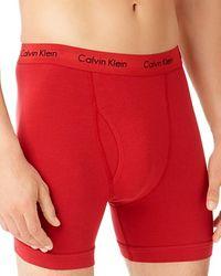 Calvin Klein Cotton Stretch Boxer Briefs, Pack Of 2 - Lyst