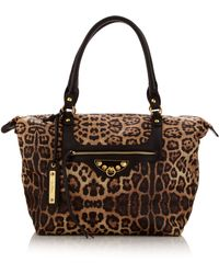 Sam Edelman Phoebe Leopardprint Nylon Tote Bag - Lyst