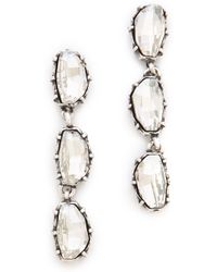 Made Her Think - Riviere Earrings - Lyst