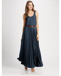 Michael by Michael Kors Racerback Maxi Dress - Lyst