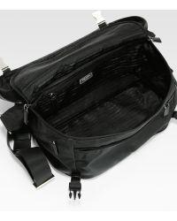Prada Small Nylon Shoulder Bag - Lyst