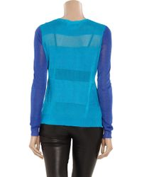 Camilla & Marc - Leroy Brown Colorblock Sweater - Lyst