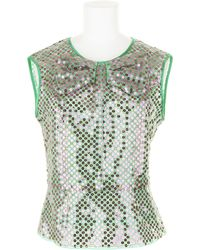 Marc Jacobs Waisted Top in Cotton and Polyester - Lyst