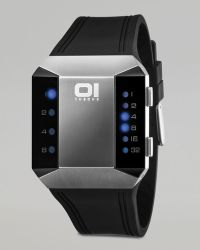 01 The One Watches - Split Screen Binary Watch - Lyst