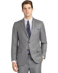 Brooks Brothers Fitzgerald Fit Mini Bead Double Stripe Suit - Lyst