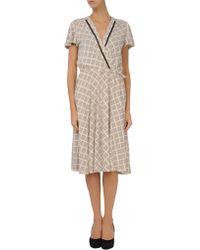 By Malene Birger Short Dress - Lyst