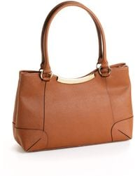 Calvin Klein Leather Shoulder Bag - Lyst