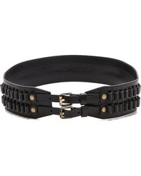 Derek Lam Military Hip Belt - Lyst