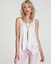 Free People Tank Ethereal Knit - Lyst