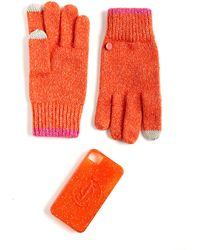 Juicy Couture Gloves and Iphone Case Set - Lyst