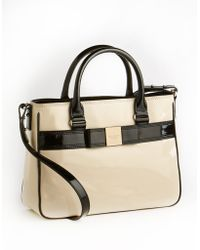 Kate Spade Patent Leather Satchel Bag black - Lyst