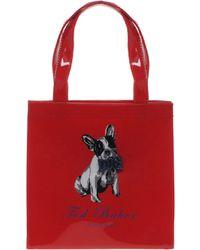 Ted Baker Mini Dog Bow Shopper red - Lyst