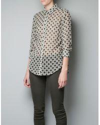 Zara Shirt - Lyst