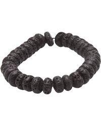 Ocnarf Sairutsa | Lava Bead Bracelet | Lyst