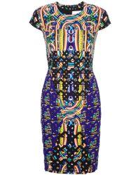 Peter Pilotto Hs Dress multicolor - Lyst