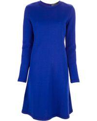 Proenza Schouler A-Line Soft Pleated Dress - Lyst