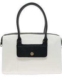 French Connection Boxy Block Bag white - Lyst