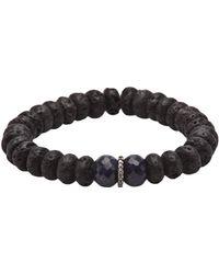 Ocnarf Sairutsa - Diamond and Sapphire Bracelet - Lyst
