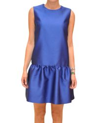 P.a.r.o.s.h. Silk Satin Jasmine Dress - Lyst