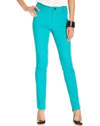 Ellen Tracy - Jeans Skinny Glaze Wash - Lyst
