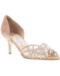Jimmy Choo Embellished Sandal - Lyst