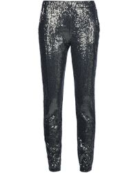Michael Kors Sequinned Trouser - Lyst