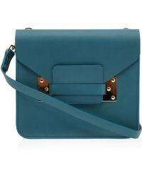 Sophie Hulme Square Envelope Bag - Lyst
