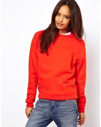 ASOS Collection Asos Boyfriend Sweatshirt - Lyst