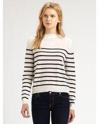 CLU Striped Silktrim Sweater - Lyst