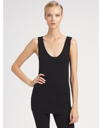 Donna Karan New York First Layer Cashmere Tank - Lyst