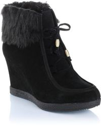 Guess Wedge Ankle Boots - Lyst