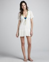 Basta Surf Serrana Low Vneck Cover-Up Dress - Lyst