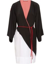 ROKSANDA - Rodez Paneled Silk Kimono - Lyst