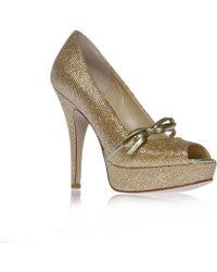 Enzo Angiolini - Savoye Peep Toe Court Shoes - Lyst